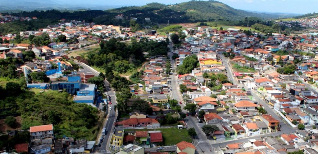 Foto aérea do município de Arujá, representando abrir empresa em Arujá - Abertura Simples