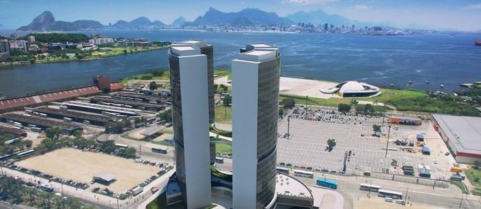 Torres Oscar Niemeyer em Niterói, representando escritório de contabilidade em Niterói - Abertura Simples