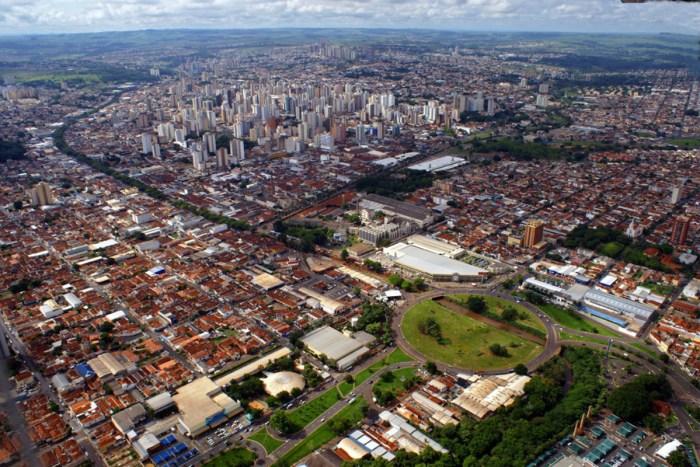 Foto aérea de Ribeirão Preto, representando abrir em Ribeirão Preto - Abertura Simples