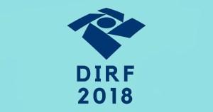 Ilustração do logo da Receita Federal do DIRF 2018 - Abertura Simples