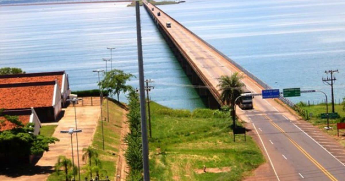 foto da ponte da cidade, representando abrir empresa em presidente epitácio