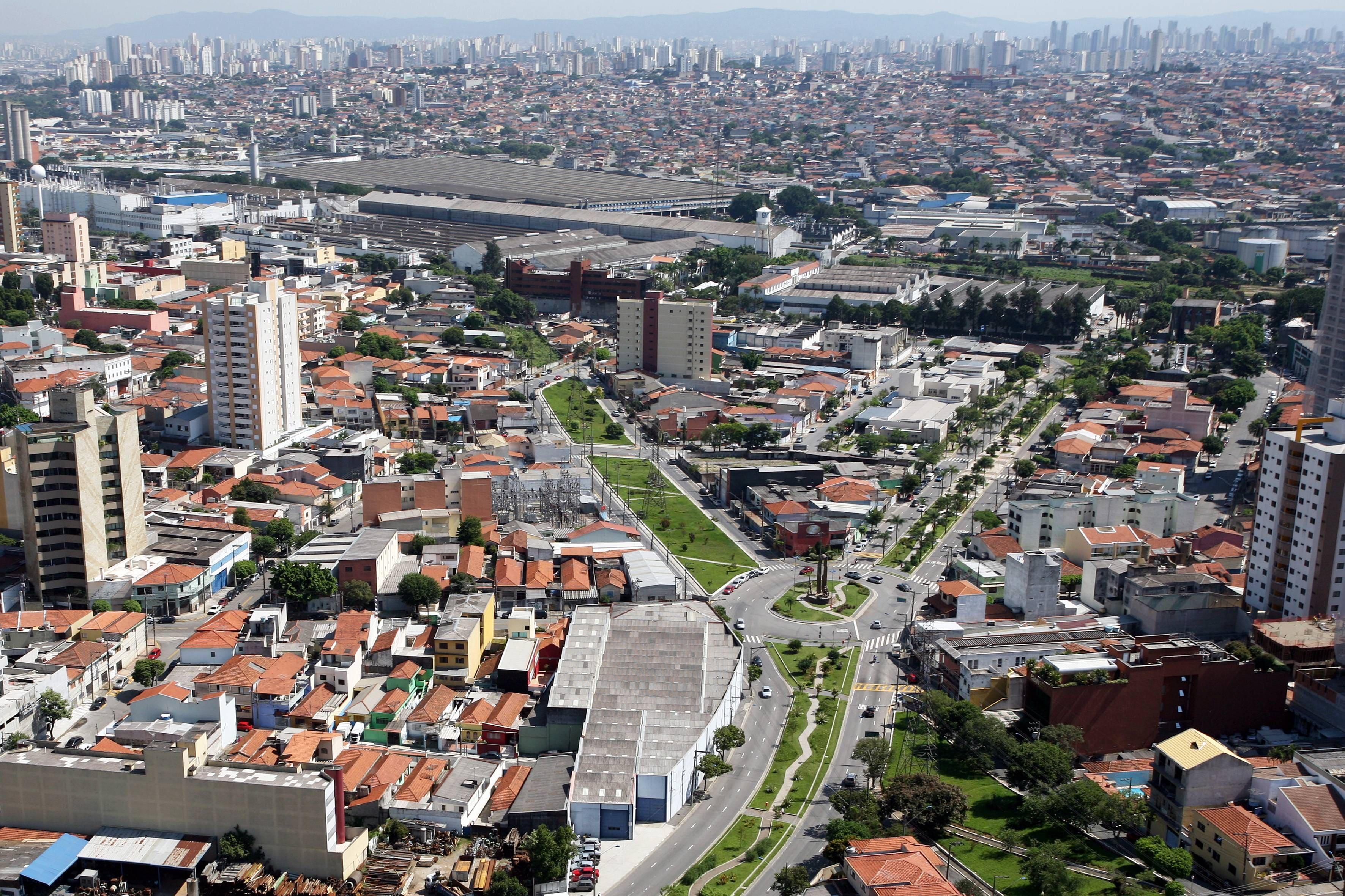 Imagem aérea para inspirar quem quer abrir empresa em São Caetano do Sul