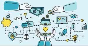 ilustração de uma forma de arranjar dinheiro para abrir empresa