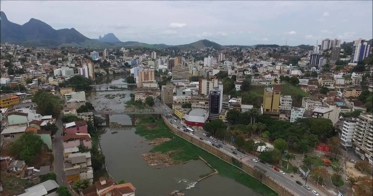 Foto de rio principal da cidade, representando como abrir empresa em cachoeiro de itapemirim