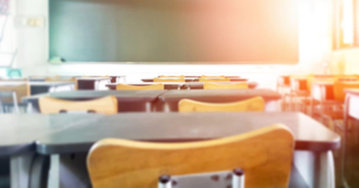 Sala de aula, representando a Contabilidade para Instituições de ensino