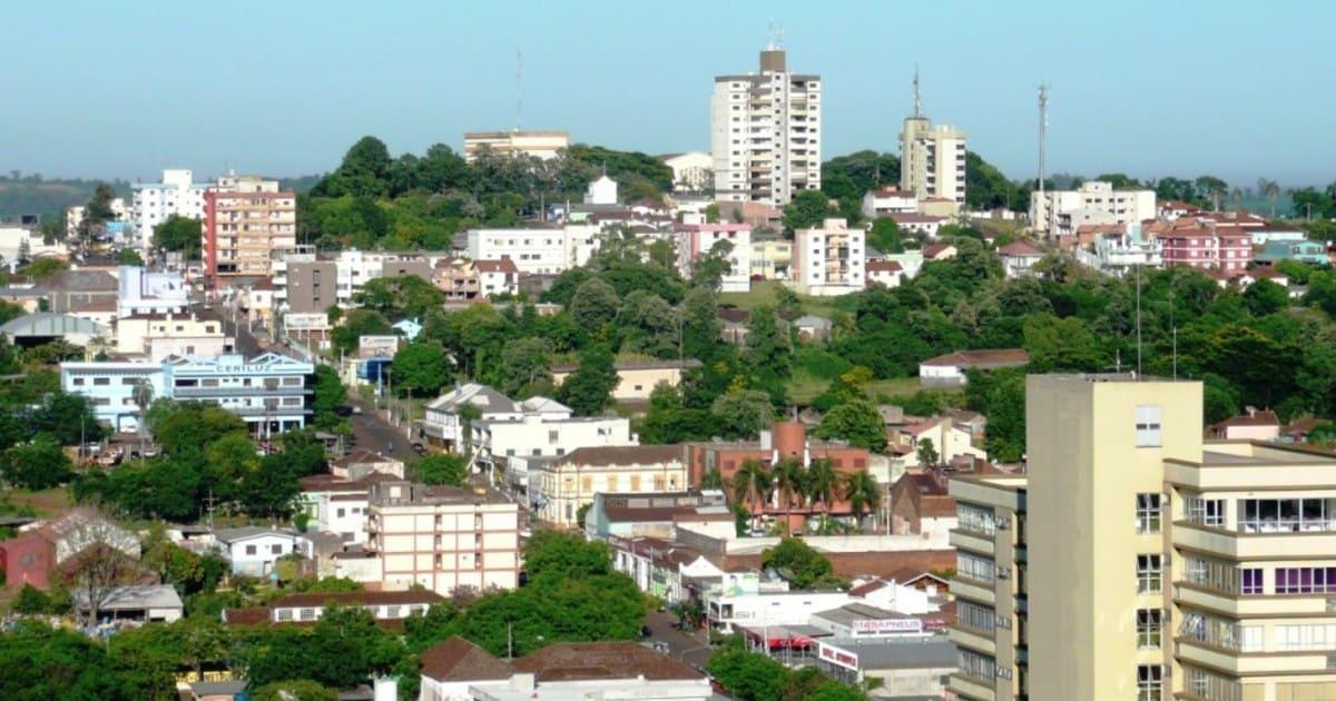 Foto da cidade, representando escritório de contabilidade em Ijuí