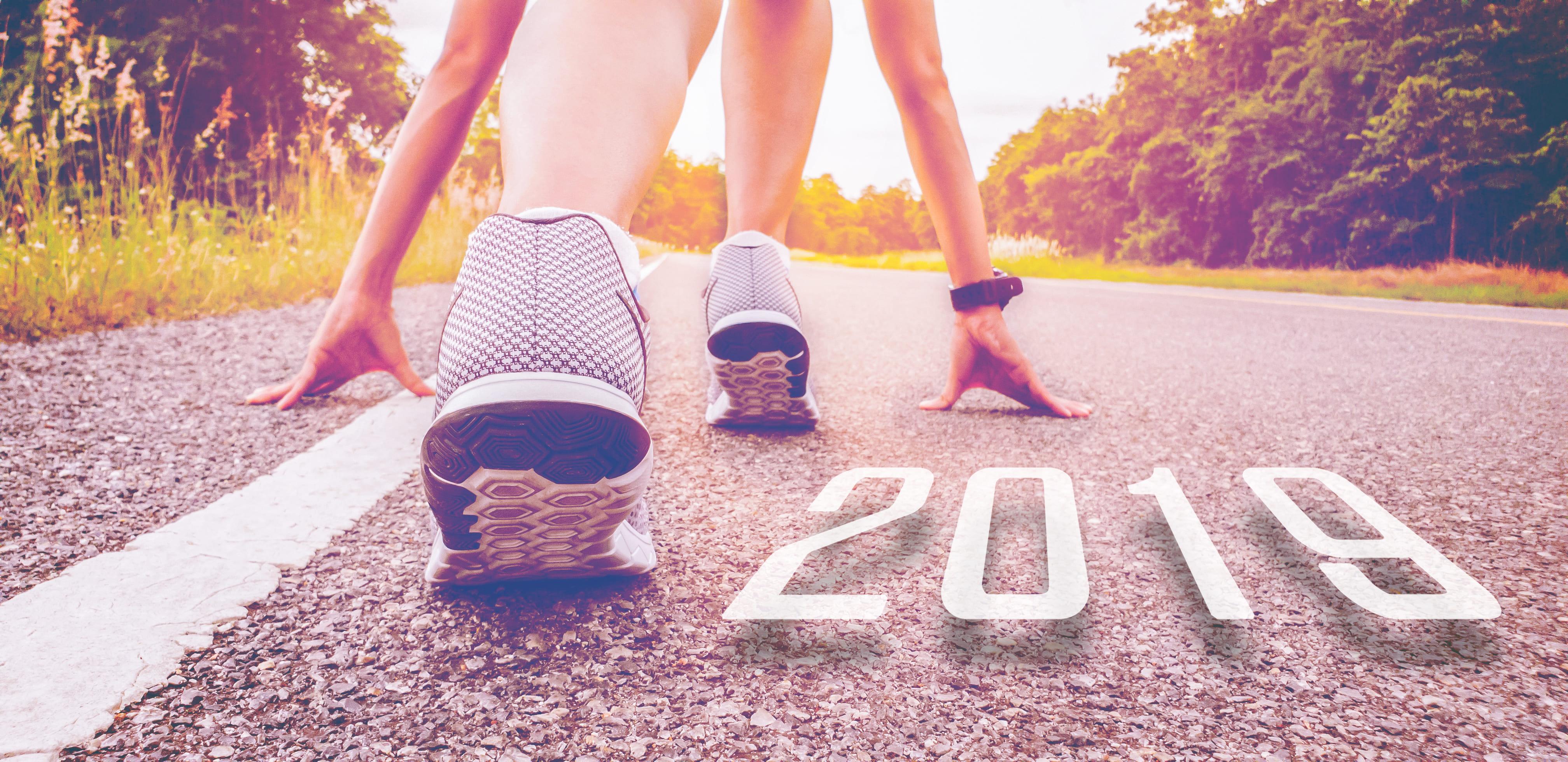 Imagem de uma corredora para remeter os profissionais que desejam saber o que esperar do empreendedorismo em 2019