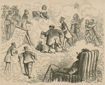 A Valentine, Once a Week Vol. 6, 1862, Hablot Knight Browne