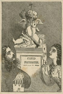 About Valentines, London Society Vol.3, 1863, Adelaide Claxton