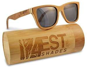 d9754fbe0c8 Wood Sunglasses made from Maple Cherry-100% polarized lenses in a wayfarer  that floats!