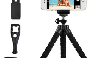 online store 52a39 a57e7 Top 10 Best iPhone 8 & 8 Plus Tripods with Remote Control 2019 ...