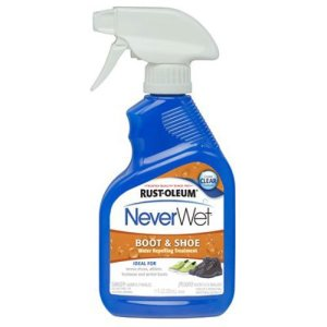 Rust-Oleum 280886 NeverWet Boot and Shoe Spray, 11-Ounce