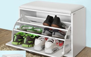 Top 10 Best Shoe Storage Bench in 2018 Review