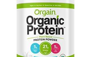 Top 10 Best Organic Protein Powder 2018 Review