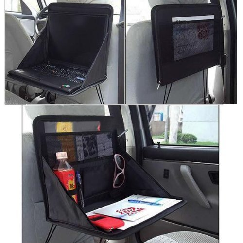 Interior Accessories Analytical Car Multi-function Working Table Steering Wheel Chair Back Dining Table Computer Table Rear Racks & Accessories