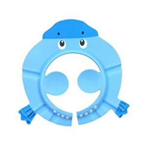 Cuteboom Baby Shampoo Shower Cap Safe Bathing Protection Soft Hat