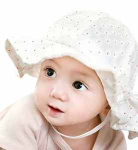 14aa4b78b79 Sumolux Toddlers Baby Girls Cute Floral Bowknot Mesh Large Brimmed Cotton Sun  Protection Floppy Hat Summer