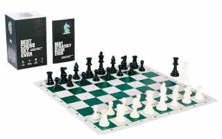 Top 10 best tournament chess set 2018 Review