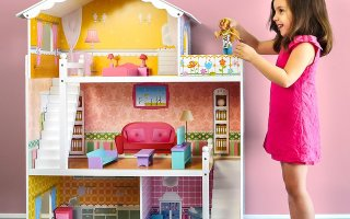 Top 10 Best Wooden Doll House in 2019 Review