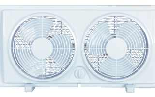 Top 10 Best Twin Window Fan 2018 Review