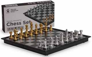 Top 10 Best wooden magnetic chess set 2018 Review