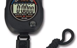 Top 10 Best Waterproof Stopwatches in 2018 Review