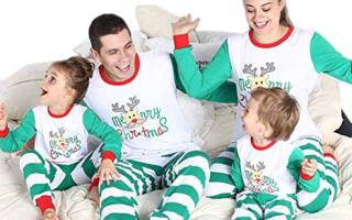 Top 5 Best Christmas pajamas for a family in 2018 Review.