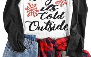 Top 5 best women's Christmas shirts in 2019 review