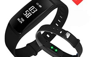 Top 5 best kirlor fitness trackers in 2019 review