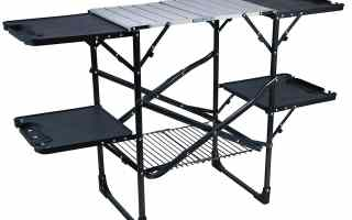 Top 5 best camping kitchen table in 2019 reviews
