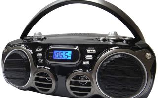 Top 5 Best Radio and Bluetooth speaker in 2019 review