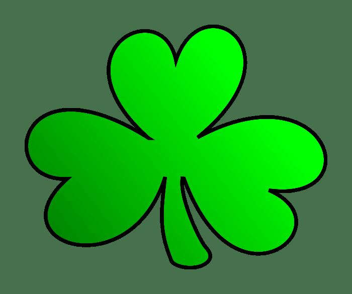 St  Patrick's Day clover - Abetta Safe & Lock Co  Inc