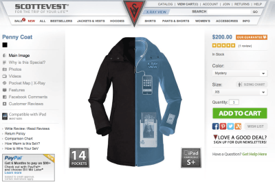 Scotte Vest Penny Coat gifts for ux professionals