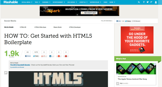 Getting Started With HTML5 Boilerplate