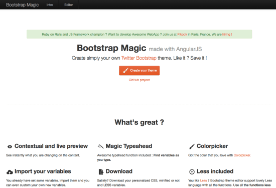 Bootstrap Magic