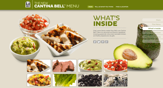 Cantina Bell Parallax Scrolling