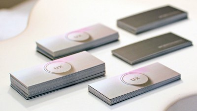 UX business cards