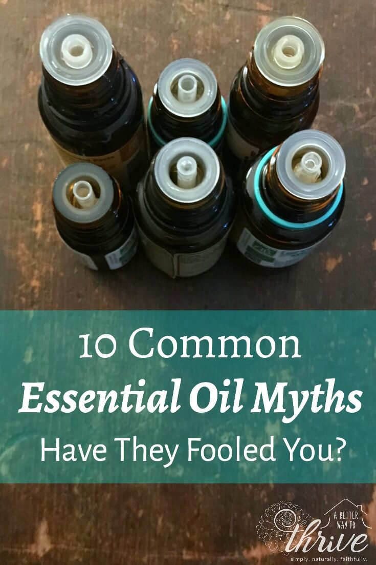 Essential oil myths are everywhere, but do you know how to tell essential oil fact from fiction? Uncover 10 common essential oil myths with a certified aromatherapist and trained herbalist so you're not fooled. When you know better, you do better! via @abttrway2thrive