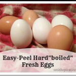 "Easy Peel Hard""boiled"" Fresh Eggs"