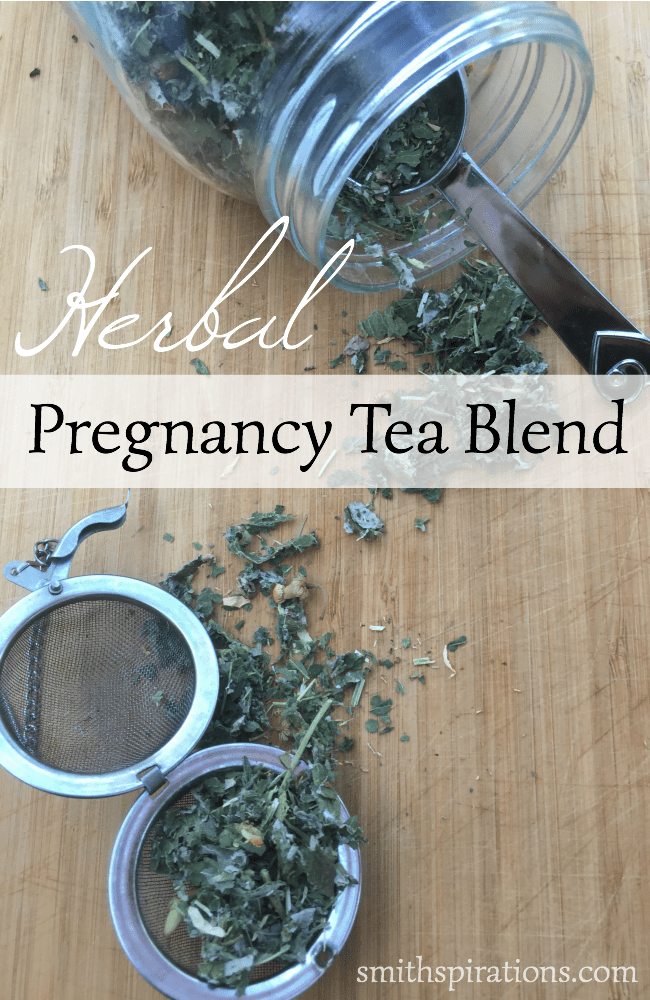 Herbal Pregnancy Tea Blend, a simple and effective herbal mix for strengthening your body before, during, and after pregnancy