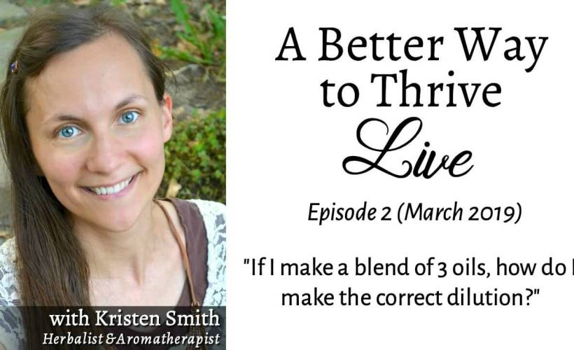 Learn how to safely dilute your custom essential oil blends in this video