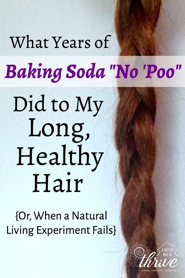The baking soda no 'poo hair care routine seems like a natural, frugal way to wash and condition your hair. But what happens when you use that method longterm? via @abttrway2thrive
