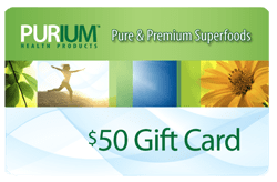 Purium $50 Gift Card