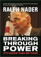 nader breaking through power