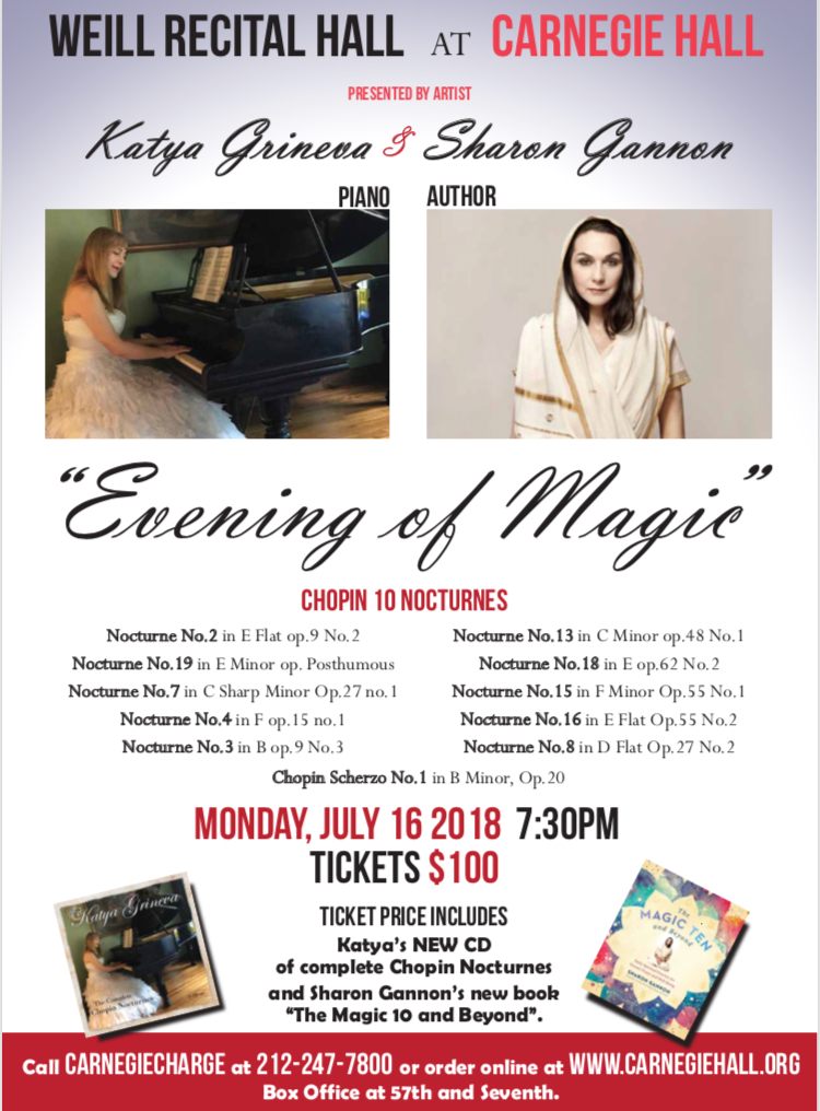 Mitchell Rabin & An Evening of Magic Roundtable with Katya Grineva & Sharon Gannon