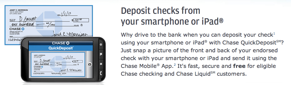 Chase mobile deposit still 2k per day limit! – Abe Williams