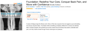 Image of the Foundation book on Amazon