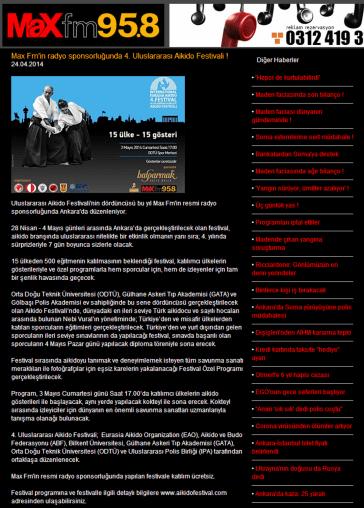 Max FM 24.04.2014