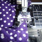 How to edge stitch