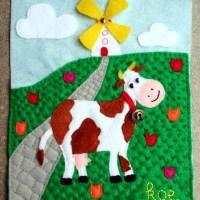 <!--:en-->Quiet book - Cow<!--:--><!--:nl-->Voelboekje - Koe<!--:-->